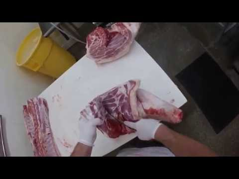 How To Butcher A Pig!