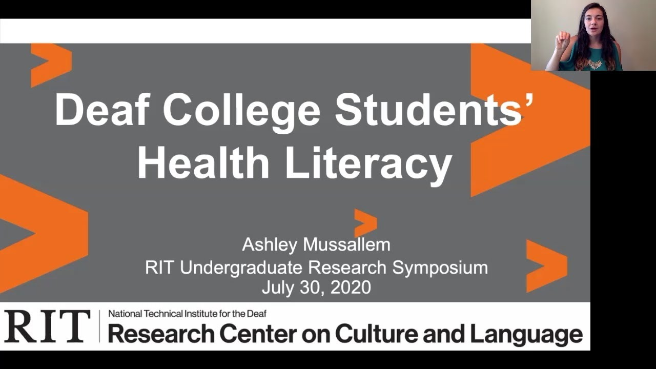 RIT Undergraduate Research Symposium: Ashley Mussallem