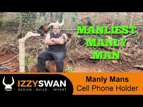 Making a Manly Mans Cell Phone Holder | and a Goat how to