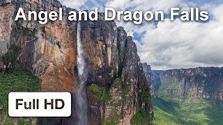 Angel and Dragon Falls, Venezuela — thumbnail