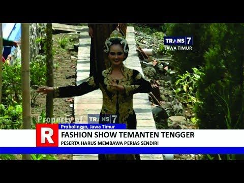 TRANS7 JAWA TIMUR - Fashion Show Temanten Tengger Bromo
