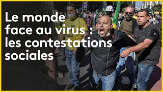 #Coronavirus Après la crise sanitaire, le monde sous haute tension sociale ?