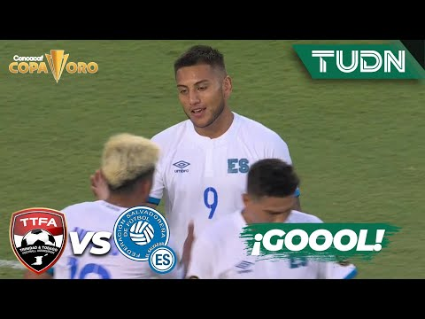 ¡Increíble! Vaya gol fuera de lo común   T y Tobago 0-2 El Salvador   Copa Oro 2021   Grupo A   TUDN