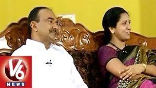 Etela Rajender \u0026 Smt. Jamuna in Life Mates | V6 News