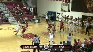IUPUI - South Dakota WBB Highlights (Feb. 22, 2017)