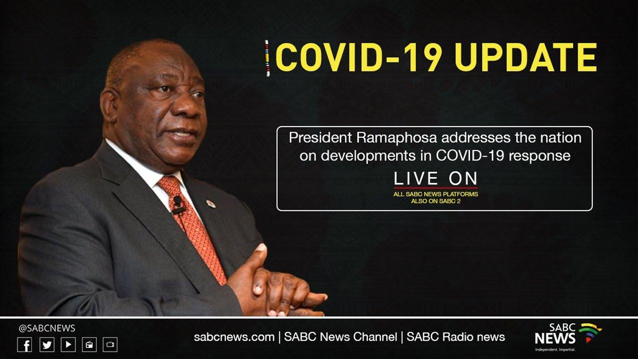 President Ramaphosa Addresses The Nation On Covid 19 Response Youtube