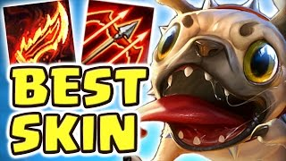 NEW PUG'MAW JUNGLE SPOTLIGHT | BEST SKIN EVER | THIS IS NOT OKAY!! (KOG'MAW JUNGLE) - Nightblue3