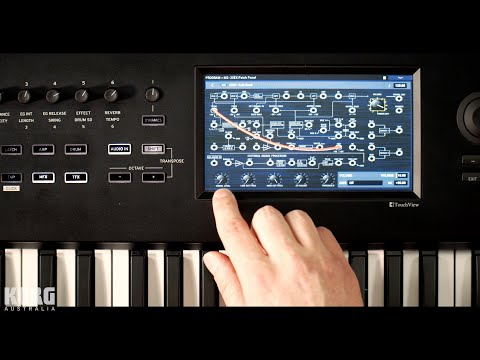 How to use an Electric Guitar or Bass to Control the Korg Nautilus MS-20 Synth Engine