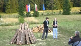 54. Jaskyniarsky týždeň Blatnica - příjezd, zahájení a ukončení (14.-18.8.2013)