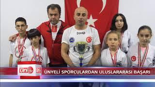 Ünyeli Sporculardan Uluslararası Başarı
