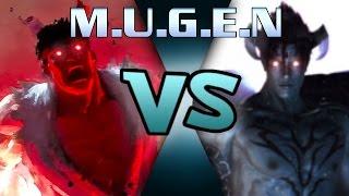M.U.G.E.N Ryu vs Jin - Demon vs Devil