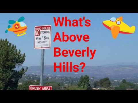 2017 Los Angeles Driving Tour: Is There Intelligent Life Above Beverly Hills? Benedict Canyon!