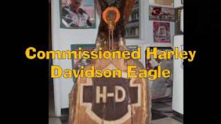 Chainsaw Maniac carves an Eagle!