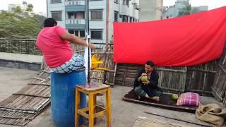 বাংলা নাটক শুটিং দৃশ্য | Bangla Natok Shooting 2018 | চুবানি বাবা