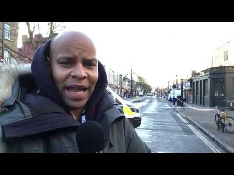 BBC News Islington stabbing: Three arrested over boy's death