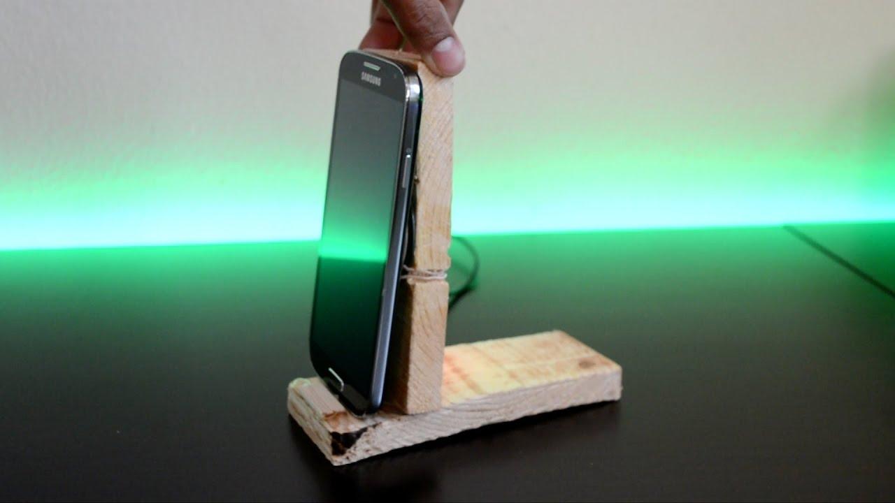 Diy 7 Wireless Charging Phone Dock Youtube