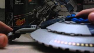 видео обзор лего звёздные войны корабль дроидов