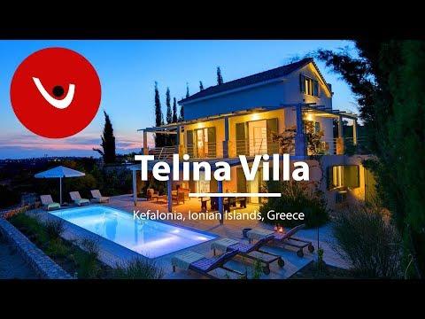 Telina Villa Ionian Islands Villas to Rent | Holiday Villas in Greece | By Unique Villas