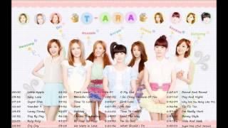 T-ARA Greatest Hits ♔ TΛRΛ (티아라) ♔ T-ARA MEGA COLLECTION || The Best Songs of T-ARA HD || Playlist