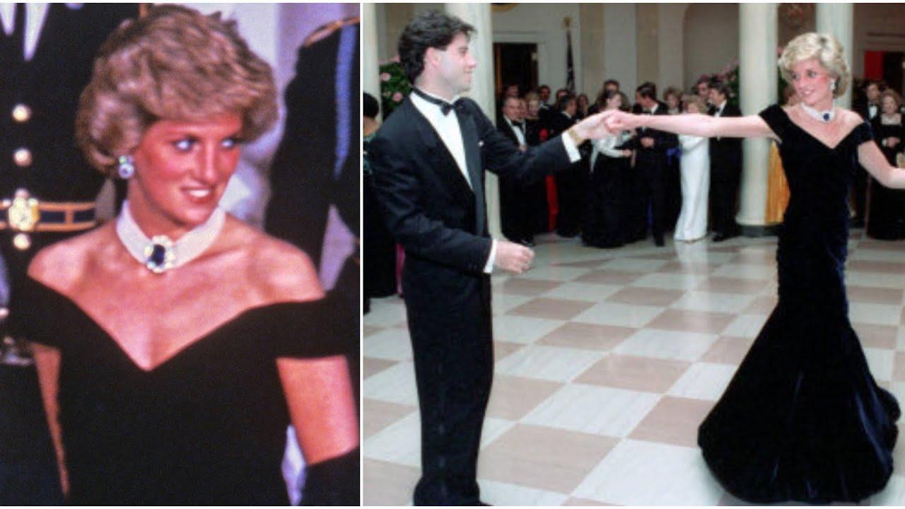 John Travolta And Princess Diana's Iconic Dance Was Her Wish And Nancy Reagan Set Them Up