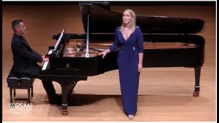 Heather Phillips, soprano sings Duparc