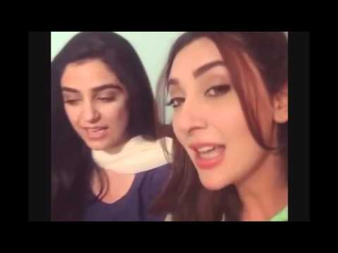 Thumbnail: Maya Ali And Ayesha Khan Singing Mann Mayal