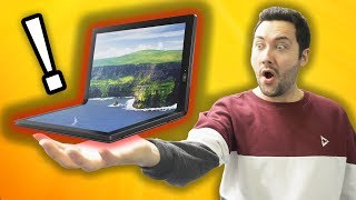 The 1st PC with Foldable Screen ! (The Future is here)