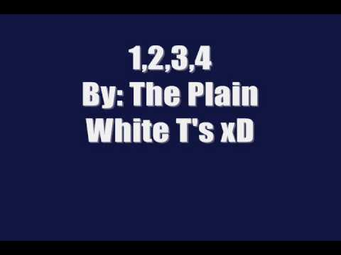 1,2,3 4 by the plain white tees LYRICS & DOWNLOAD LINK! (: