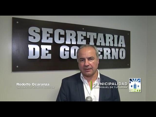 El saludo de Fin de Año del Secretario de Gobierno de la Municipalidad Capitalina Rodolfo Ocaranza