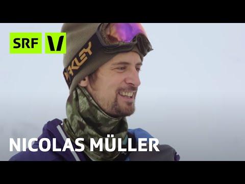 Nicolas Müller: Snowboarden ist Kunst
