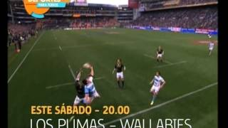 Adelanto   Los Pumas vs  Wallabies   06 10 12