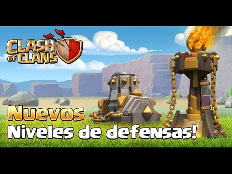 ¡¡NUEVOS EDIFICIOS!! Mortero nivel 9, Torre infierno nivel 4 y más | Sneak Peek #1 | Clash of Clans