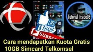 Cara Mendapatkan Kuota Gratis 10GB Simcard Telkomsel 2018