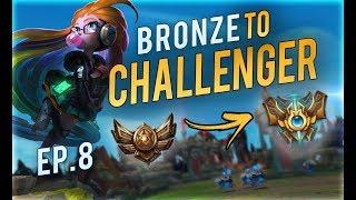 DARK HARVEST ZOE IS THE SAVIOR?? | Bronze to Challenger EP.8 (Pokemon Challenge)