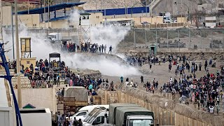 video: Thousands of migrants allowed to cross into Spain as political ploy, says Morocco