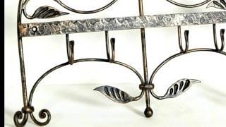 Декоративная вешалка КОВАНЫЕ ТЮЛЬПАНЫ из металла Днепропетровск