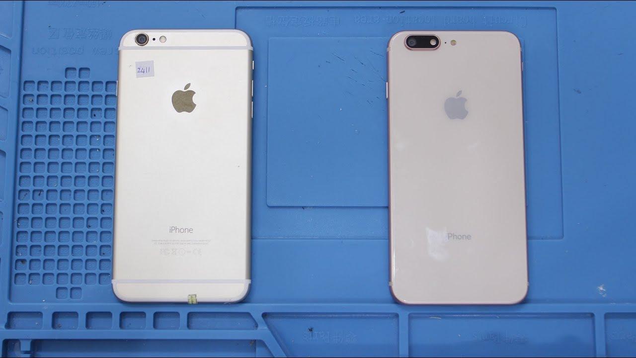 Độ vỏ iPhone 6 Plus thành iPhone 8 Plus cực dễ dàng – Bệnh viện điện thoại 24h