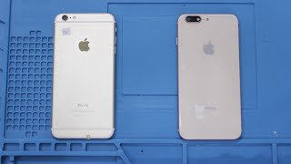 Độ vỏ iPhone 6 Plus thành iPhone 8 Plus cực dễ dàng - Bệnh viện điện thoại 24h