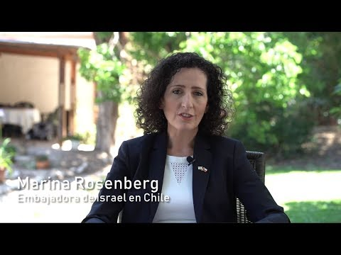 Meet Israel's Newest Ambassador To Chile Marina Rosenberg