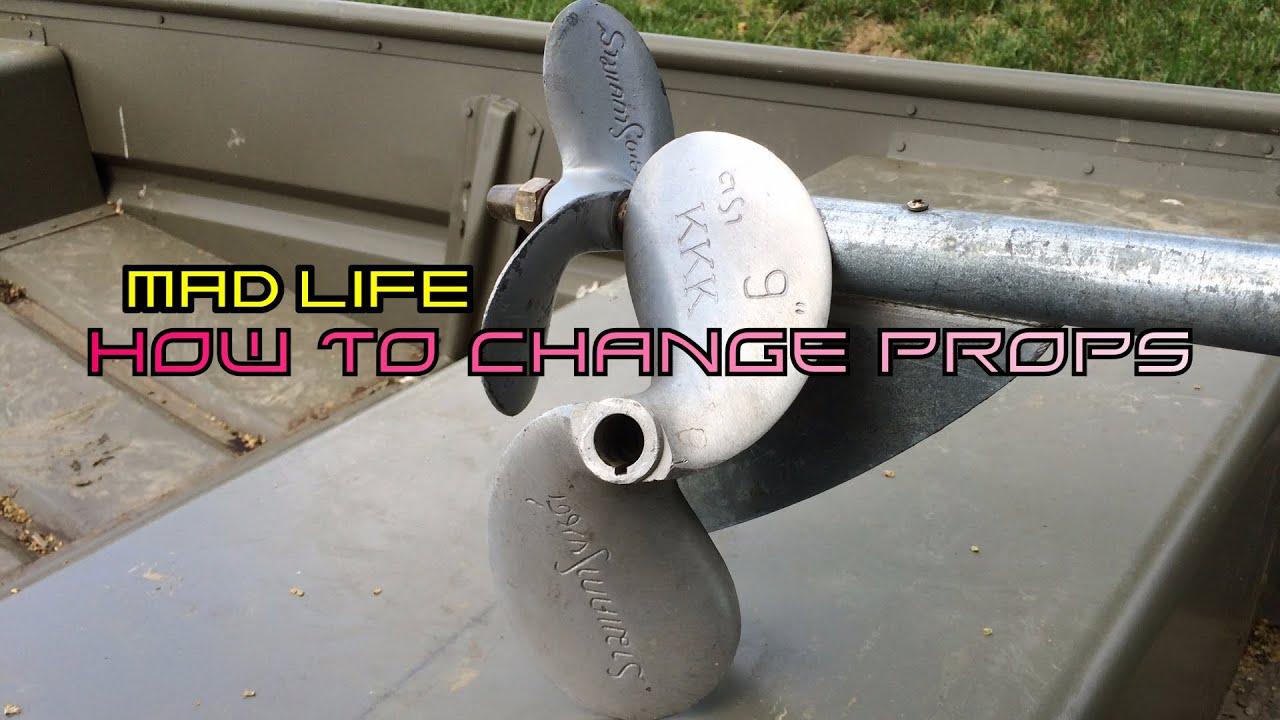 """Mud-skipper Longtail mud motor prop propeller 7/"""" 7 Inch Best Price!"""