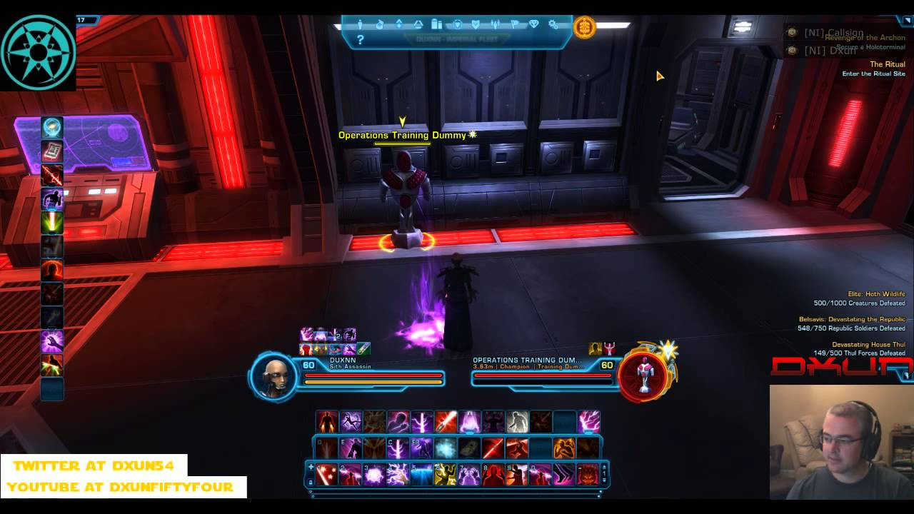 DXUN54 SWTOR 3 0 Sith Assassin Deception Spec new abilities and first  impressions
