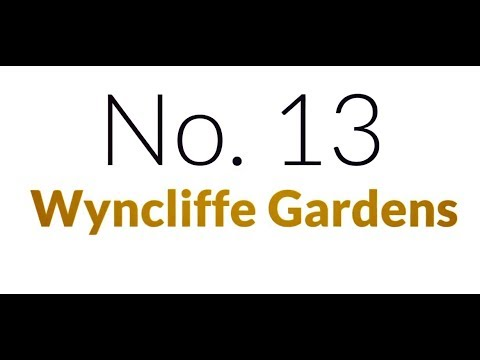 No 13 - Wyncliffe Gardens
