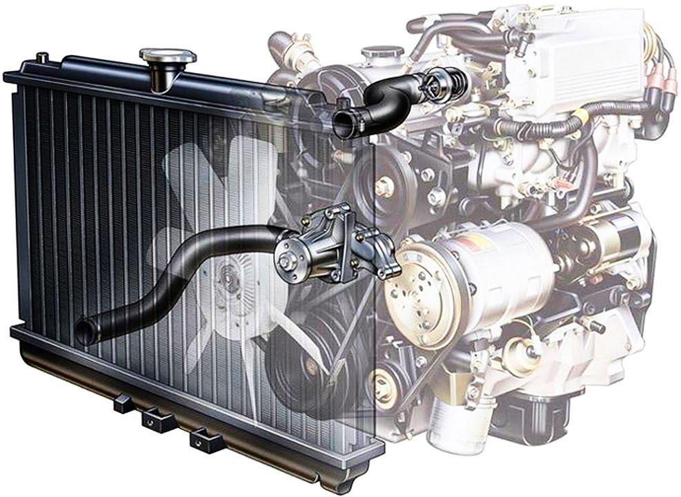Принцип работы системы охлаждения двигателя (на примере Ford Fusion)