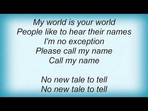 Love And Rockets - No New Tale To Tell Lyrics