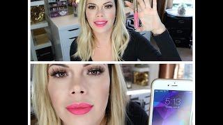 LA Splash Lip Couture Lipstick Review with Check Ins (Lollipop)