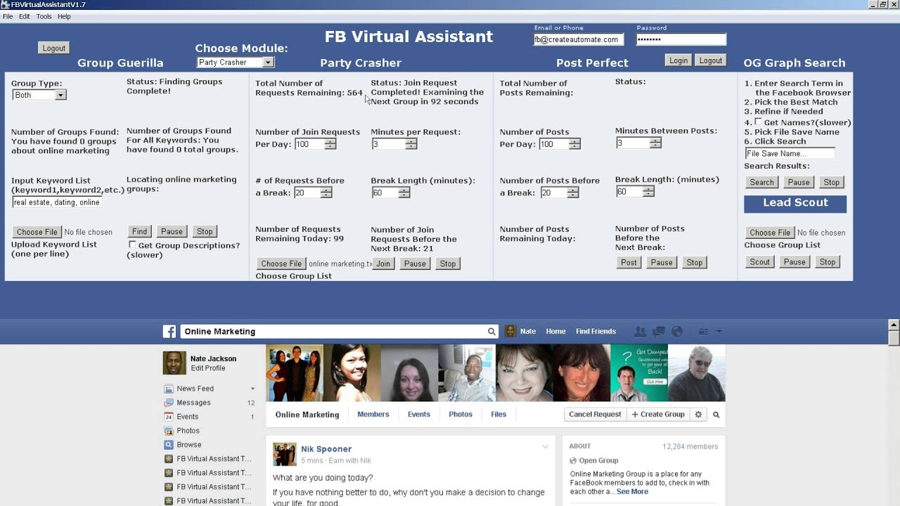 How to get my facebook group page id number lookup