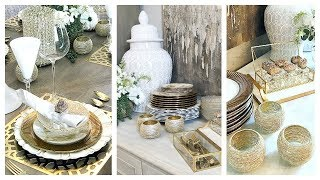 NEW! Dollar Tree DIY | Zgallerie & HomeGoods Hack Tablescape