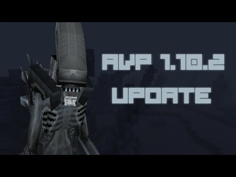 Minecraft AVP Mod Spotlight - 1.10.2 UPDATE