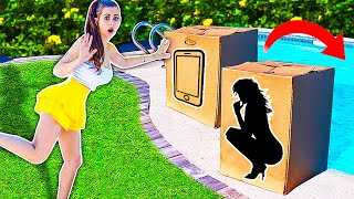 Download DONT Push the Wrong MYSTERY BOX into the Water ! (you decide) Mp3 and Videos