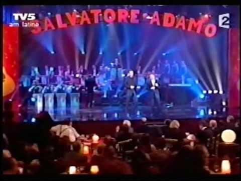 Garou et Salvadore Adamo  C'est ma vie Adamo, MusicHall et compagnie, 2004